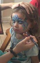 JoAnna Esposito Face painting Princesses face painter for Birthday Parties and Corporate events in Tampa Bay St Pete Clearwater FL