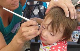 Honey Bunch Face Painting JoAnna Esposito Face Painting Birthday Party, Face Painter in Safety Harbor Florida USA