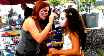 Clearwater FL Face Painter Tampa Bay Face Painting Connecticut Artists Angela
