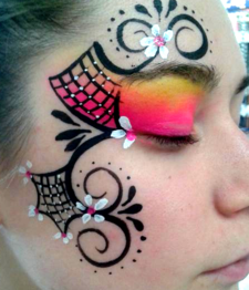 JoAnna Esposito Beautiful face painting Tampa FL Face Painter