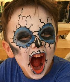 JoAnna Esposito monster face painting wesley chapel florida face painter